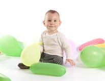 Um bebé dos anos de idade Foto de Stock Royalty Free