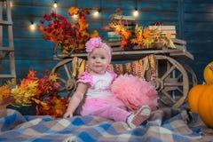 Um bebé dos anos de idade Imagens de Stock