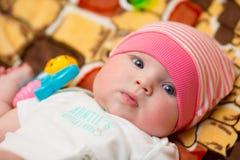 Um bebê do ano fotos de stock royalty free