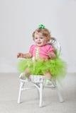 Um bebê dos anos de idade Fotos de Stock