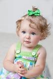 Um bebê dos anos de idade Foto de Stock