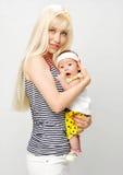 Um bebê pequeno Foto de Stock Royalty Free