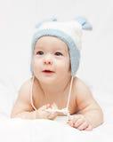 Um bebê pequeno bonito Fotos de Stock