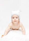 Um bebê pequeno bonito imagens de stock