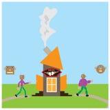 Um beerhouse ilustração royalty free