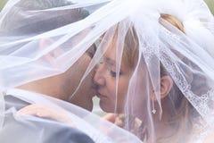 Um beijo doce Fotos de Stock