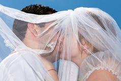 Um beijo doce. Fotos de Stock Royalty Free