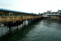 Um Belakang Padang 3 - Anlegestelle lizenzfreie stockfotografie