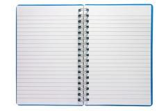 Um bloco de notas espiral pequeno Fotos de Stock