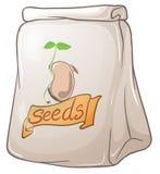 Um bloco de sementes da planta Fotos de Stock