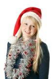 Um blonde novo bonito Foto de Stock Royalty Free