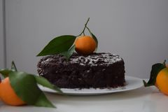 Um bolo Fotografia de Stock