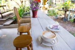 um bolo da American National Standard da xícara de café Imagem de Stock Royalty Free