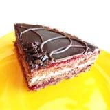 Um bolo delicioso imagens de stock