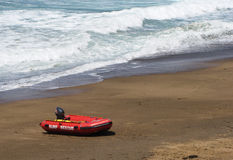 Um bote de salvamento da ressaca no Gold Coast de Austrália Foto de Stock Royalty Free