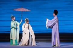 """Um  branco de ajuda de Opera""""Madame Snake†da mão-Kunqu Imagens de Stock"""