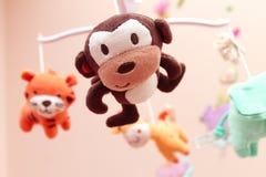Um brinquedo musical do carrossel do bebê Imagens de Stock Royalty Free