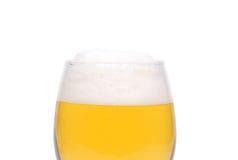 Um cálice do vinho do close-up da cerveja Fotos de Stock Royalty Free