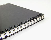 Um caderno Fotografia de Stock