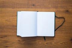 Um caderno velho do curso Imagem de Stock