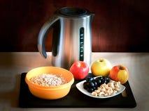 Um café da manhã saudável da farinha de aveia Imagem de Stock