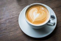 Um café do Latte fotos de stock royalty free