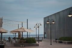 Um café exterior Imagens de Stock Royalty Free