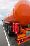 um caminhão de tanque Imagem de Stock