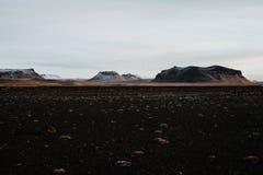 Um campo do vulcão em Islândia Fotografia de Stock Royalty Free