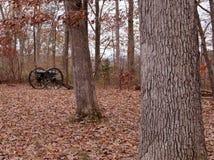 Um canhão da guerra civil de Gettysburg, Pensilvânia Imagens de Stock