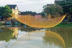 Um canto da cidade de Hoi An na manhã Fotos de Stock