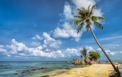 Um canto da ilha de Phu Quoc em um dia ensolarado Imagem de Stock Royalty Free