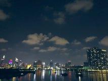 Um canto de Saigon de longe fotos de stock royalty free