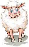 Um carneiro ilustração stock