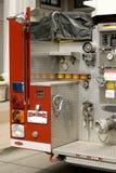 Um carro de bombeiros Imagens de Stock Royalty Free