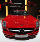 Um carro de Mercedes-Benz SLS AMG Imagens de Stock Royalty Free