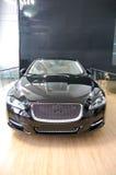 Um carro luxuoso preto Fotos de Stock Royalty Free