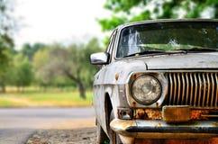 Um carro soviético velho Fotos de Stock