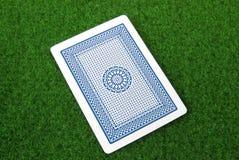 Um cartão de jogo Fotos de Stock