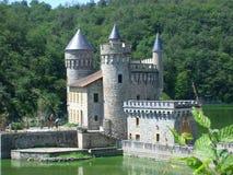 Um castelo Foto de Stock