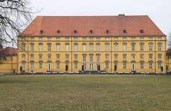 Um castelo com parque Fotografia de Stock
