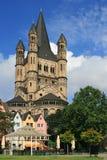 Um castelo em Francoforte, Alemanha Fotos de Stock
