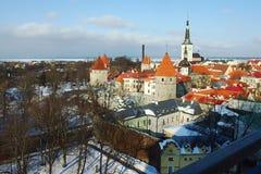 Um castelo em Tallin Fotos de Stock Royalty Free