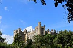 Um castelo inglês bonito histórico fotos de stock