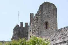 Um castelo inglês velho imagens de stock royalty free