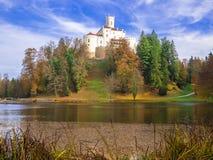 Um castelo velho bonito Trakoscan Fotografia de Stock Royalty Free
