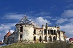 Um castelo velho de Europa Imagens de Stock