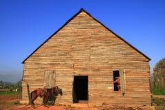 Um celeiro no vale de Vinales, Imagem de Stock Royalty Free