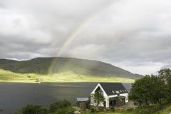 Um cenário rural dentro da ilha de Skye Foto de Stock Royalty Free