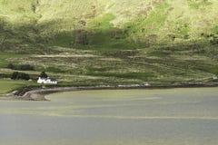 Um cenário rural dentro da ilha de Skye Fotografia de Stock Royalty Free